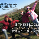 Our journey into foster care