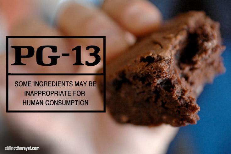 PG-13 Brownies
