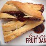 Braided Fruit Danish