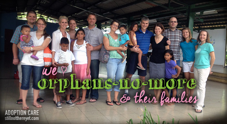 we love orphans-no-more and their families!