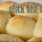 Super-fantabulous quick rise rolls