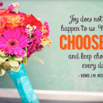 Marked… to Choose Joy!