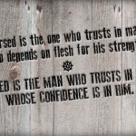 Trusting God with What's MINE