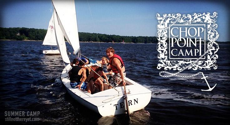 Chop Point Summer Camp in Maine