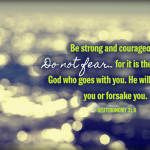 Encouragement for the road ahead
