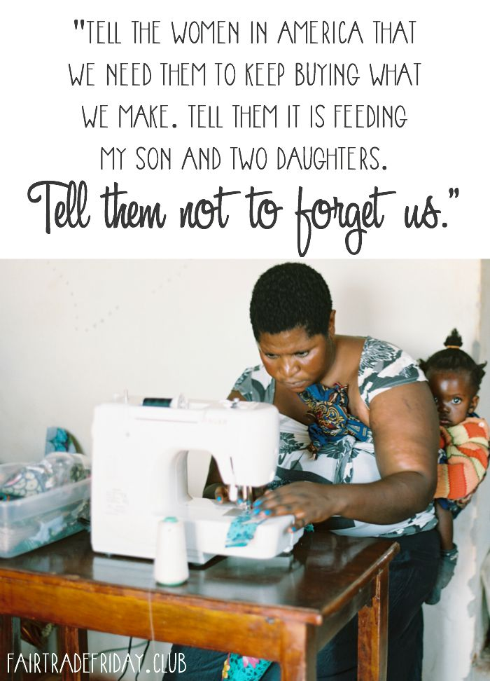 Tell them not to forget us...