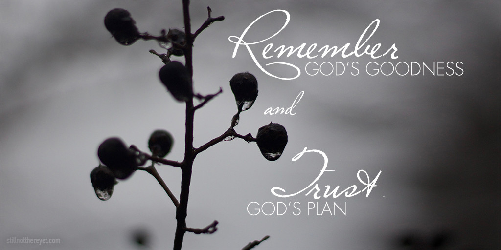 remember and trust