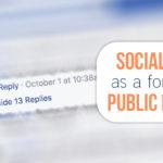 Social Media's Teen Years and Public Debate