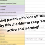 Keeping Kids Active & Learning While Parents Work-From-Home